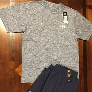 New with tags Men's Under Armour outfit.